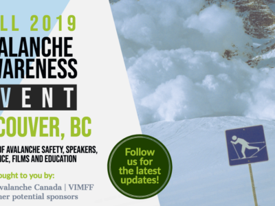 Coming soon: Avalanche Awareness Event