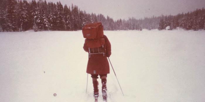 70 decades of hikes - vintage skiing