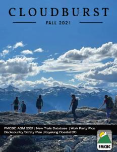 Cloudburst Cover Fall 2021