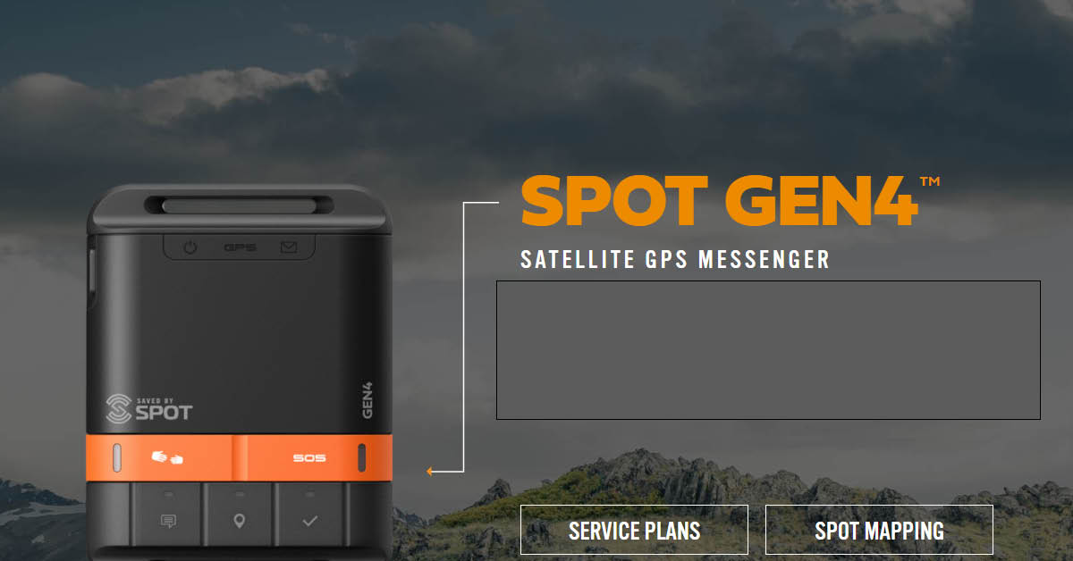 GEAR REVIEW – A comparison review of Spot Gen 2 and 4 Satellite Devices