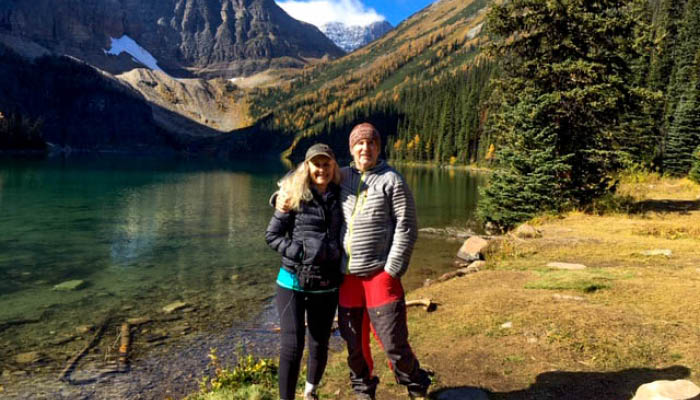 Trip to Lake Louise for Golden Larch Fest
