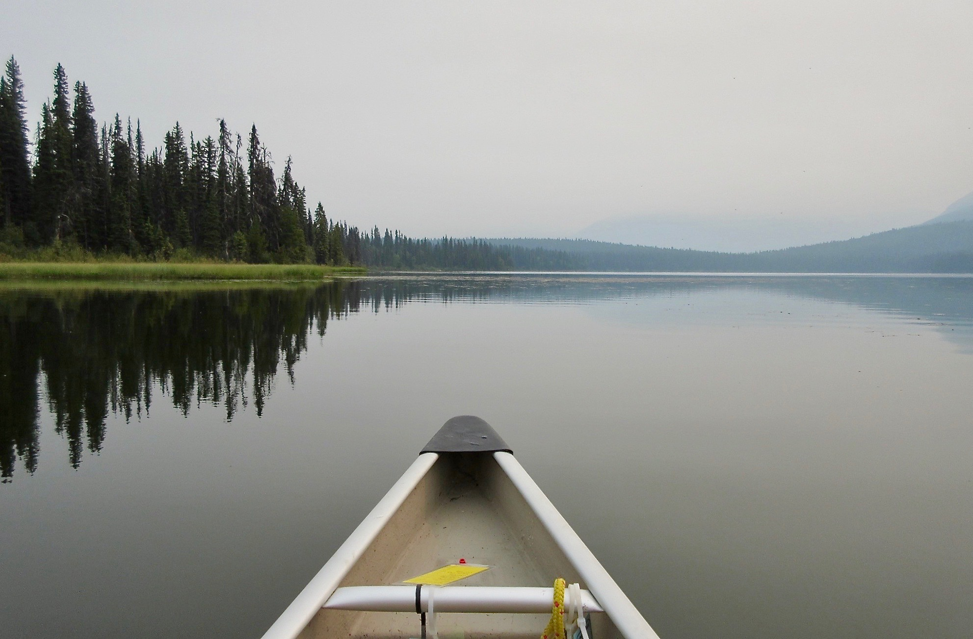Sometimes You Forget the Pots: An unplanned day among the smoky wilds of Bowron Lakes