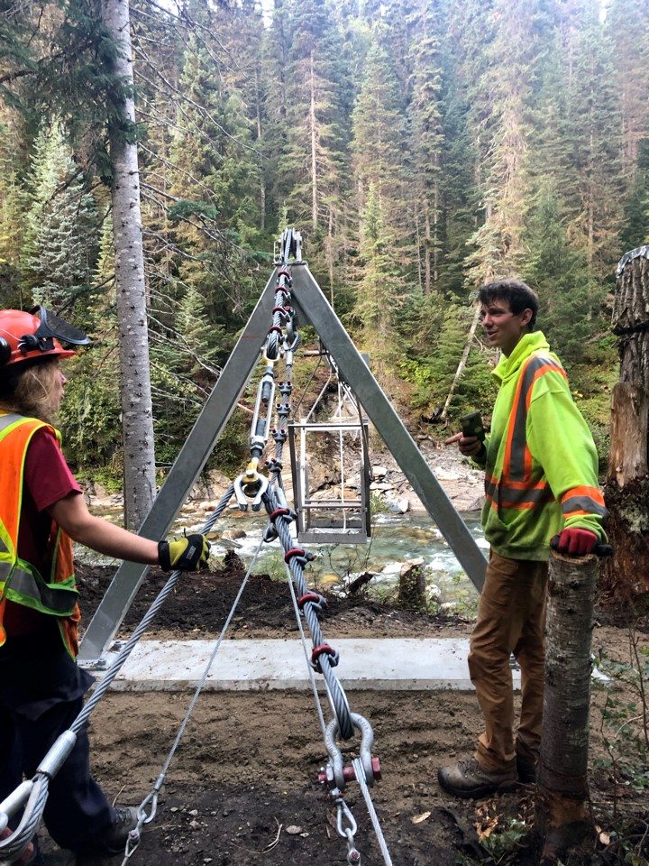 Goat River Trail Project
